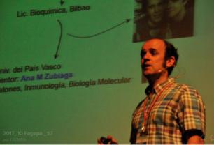Oscar Fernández-Capetillo, Doctor en Bioquímica Univ. País Vasco, IP Grupo Inestabilidad genómica en el CNIO